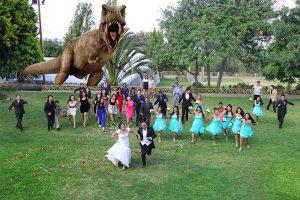 boda-montaje-dinosario-en-quito