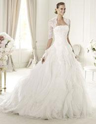 Refleja tu personalidad a través de tu vestido de novia.